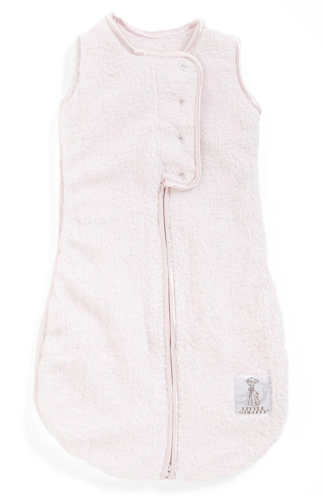 Alternate Image 1 Selected - Little Giraffe 'Dream Sack™' Chenille Wearable Blanket (Baby) (Online Only)