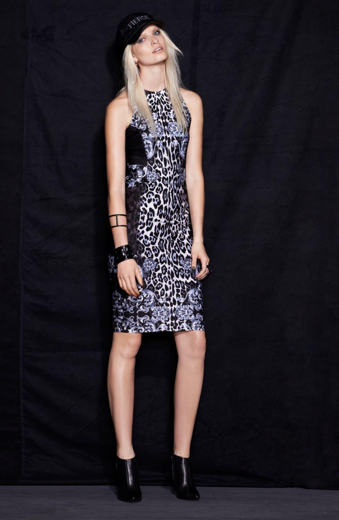 Alternate Image 5  - WAYF 'Baroque' Body-Con Midi Dress
