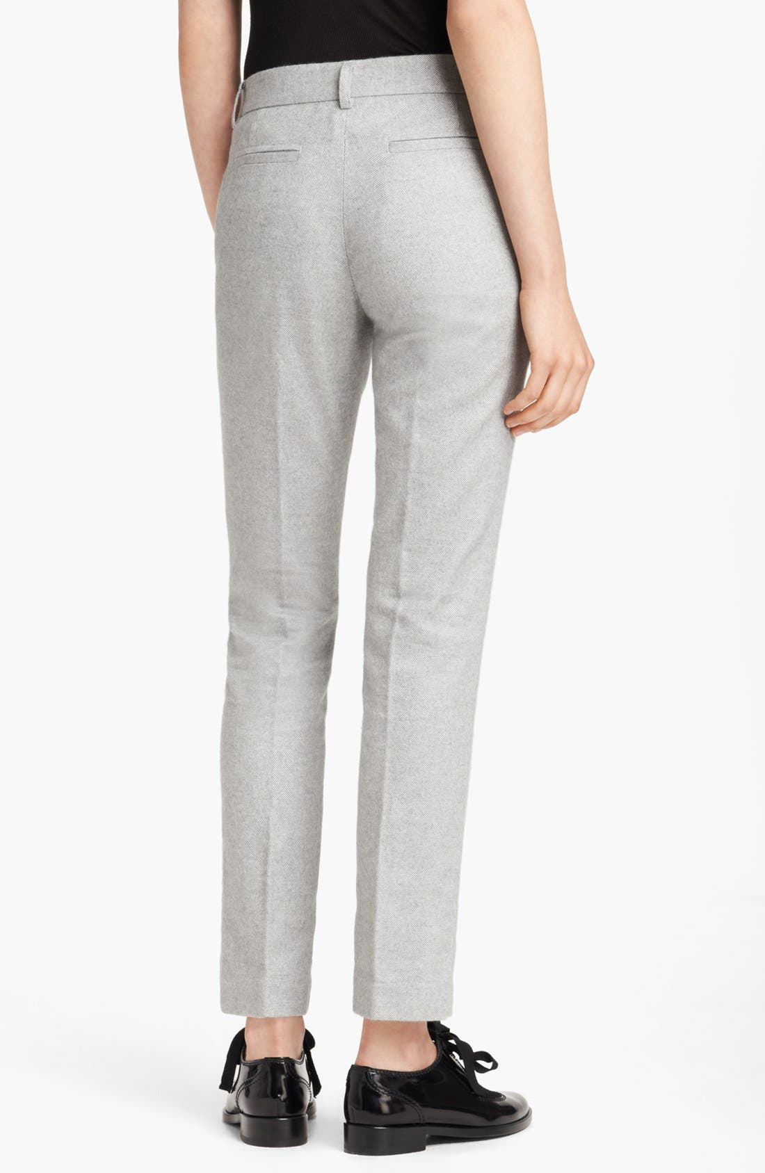 Alternate Image 2  - Band of Outsiders Slim Tweed Pants