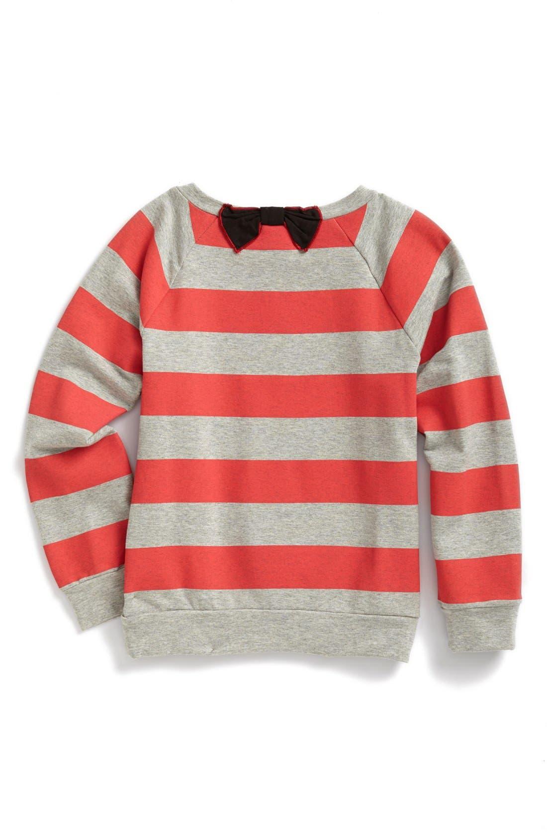 Alternate Image 2  - LITTLE MARC JACOBS 'Block Letter' Sweatshirt (Toddler Girls)
