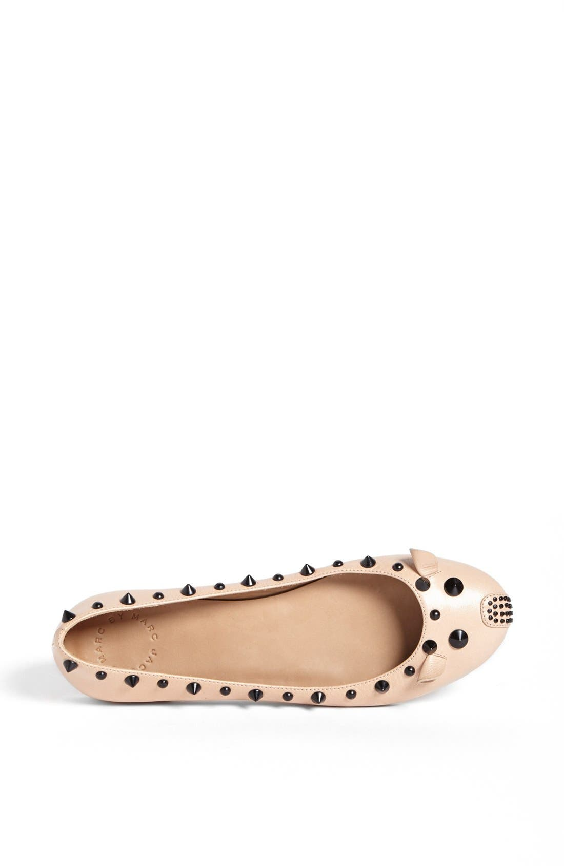 Alternate Image 3  - MARC BY MARC JACOBS 'Punk Mouse' Ballerina Flat