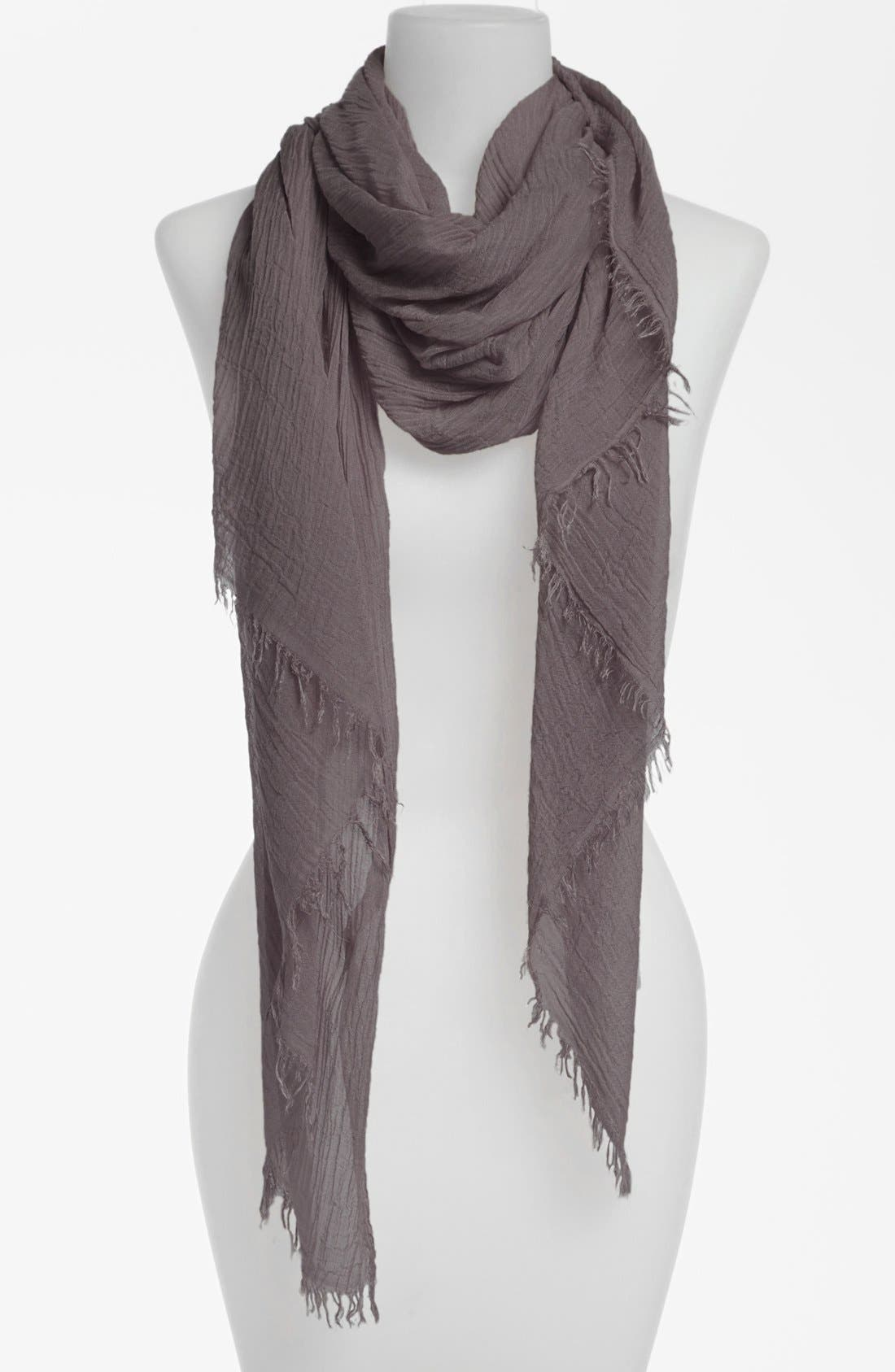 Alternate Image 1 Selected - Nordstrom Fringe Wrap