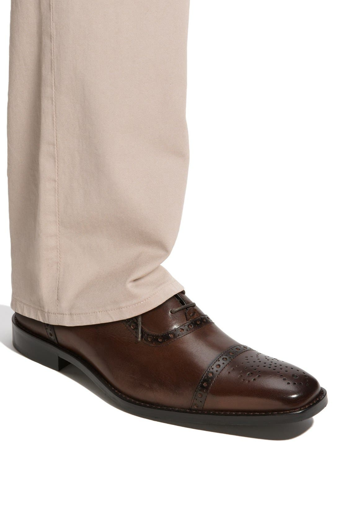 Alternate Image 6  - Calibrate 'Brandon' Cap Toe Oxford