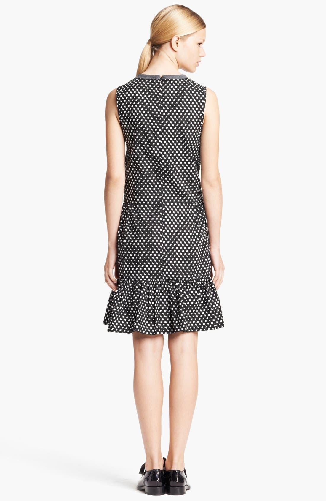 Alternate Image 2  - Marni Houndstooth Print Full Skirt Dress