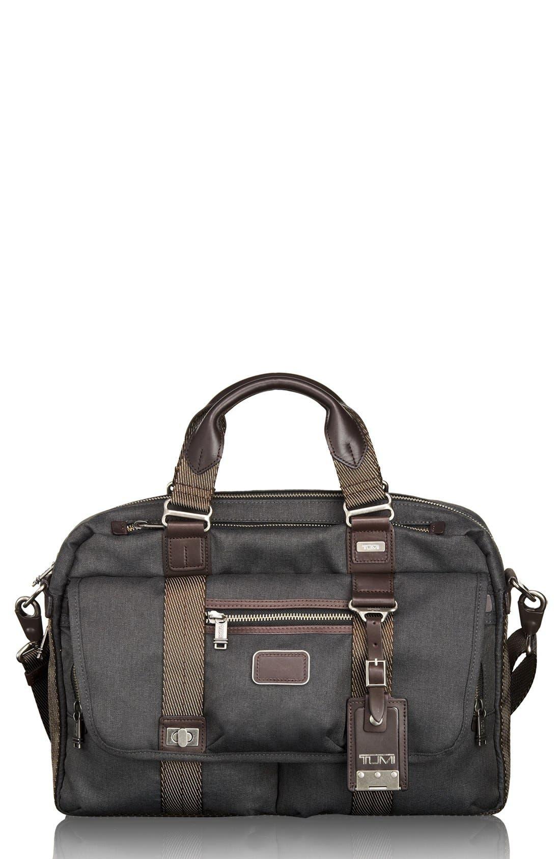 Alternate Image 1 Selected - Tumi 'Alpha Bravo - Pinckney' Flap Briefcase