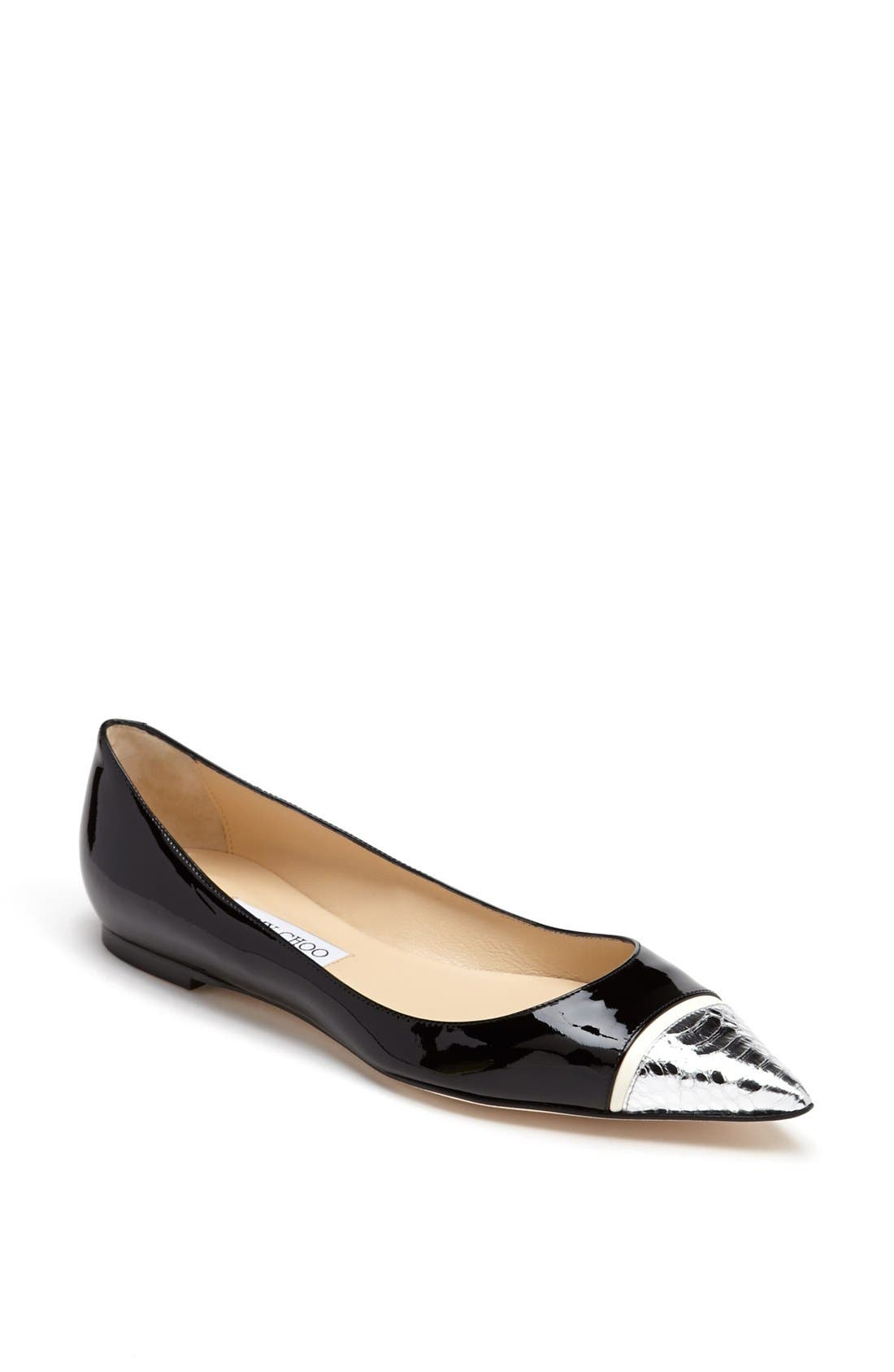 Alternate Image 1 Selected - Jimmy Choo 'Alfonso' Flat