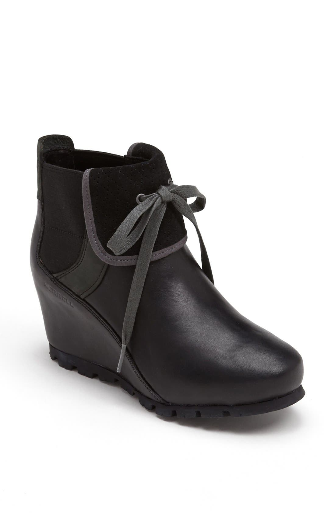 Alternate Image 1 Selected - Merrell 'Eve' Wedge Bootie