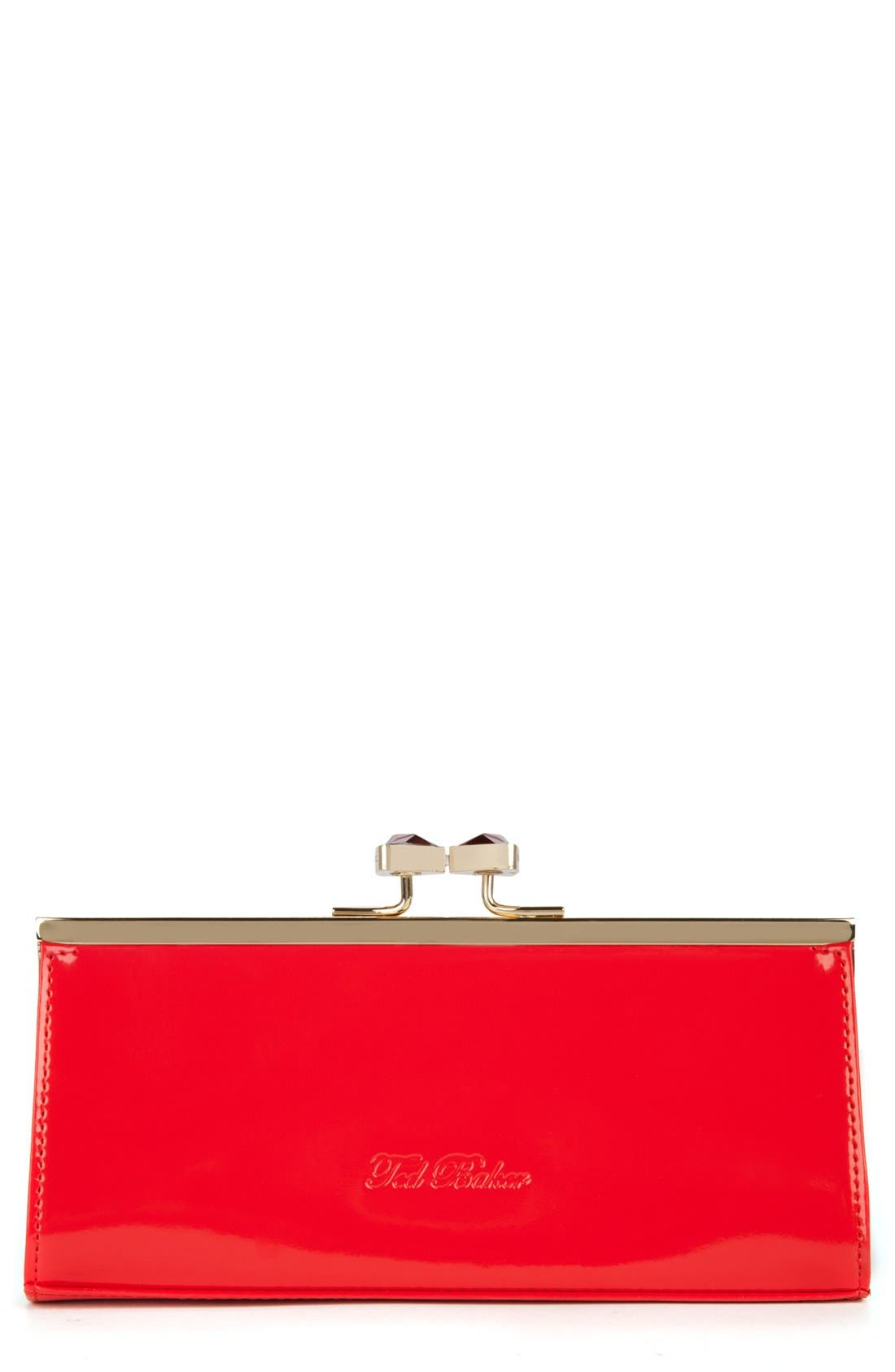 Alternate Image 1 Selected - Ted Baker London Crystal Bow Clutch