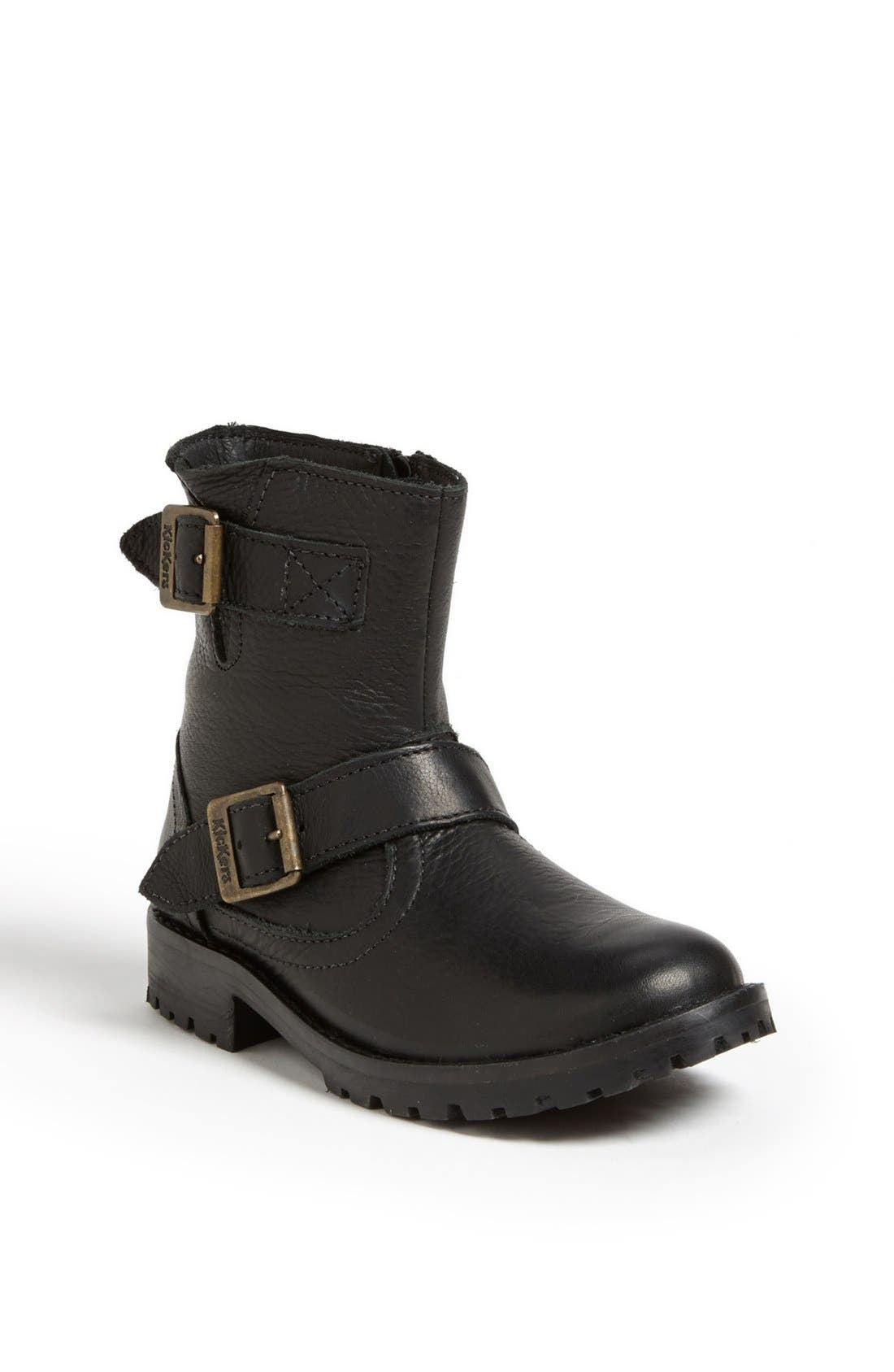 Alternate Image 1 Selected - Kickers 'Gecko' Boot (Toddler, Little Kid & Big Kid)