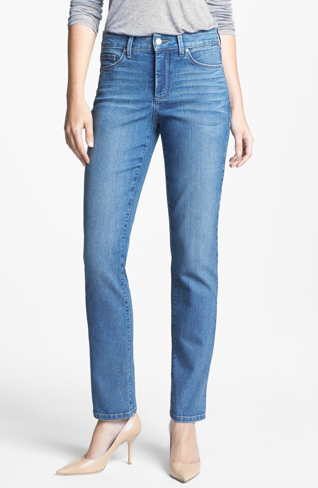 Alternate Image 1 Selected - NYDJ 'Sheri' Stretch Skinny Jeans (Ontario) (Petite)