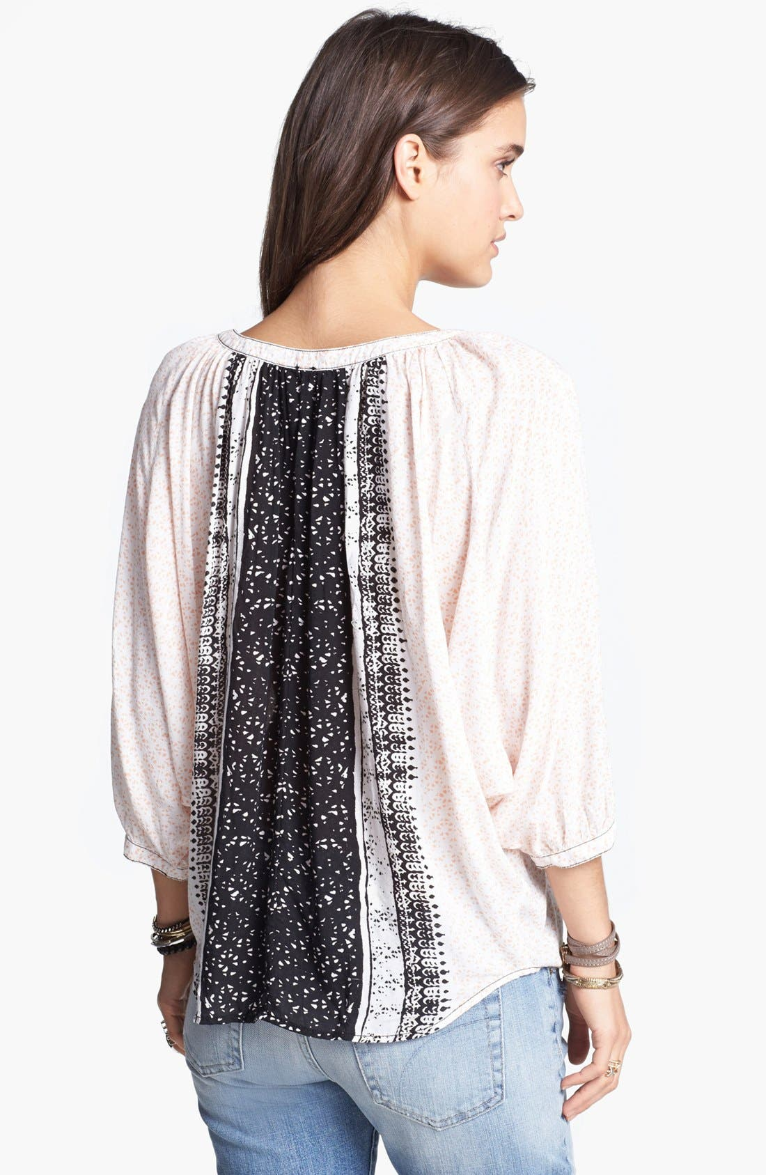 Alternate Image 2  - Free People 'Days of Romance' Peasant Top