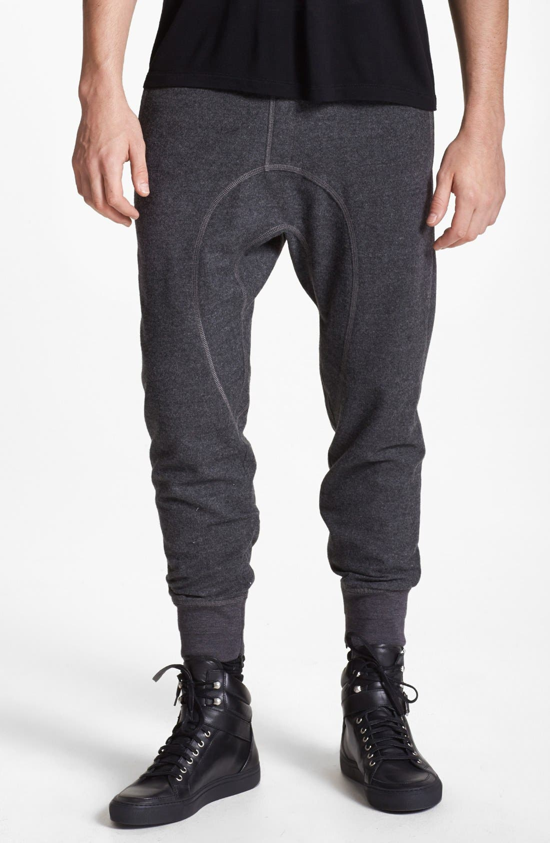 Alternate Image 1 Selected - Neil Barrett Wool Blend Pants
