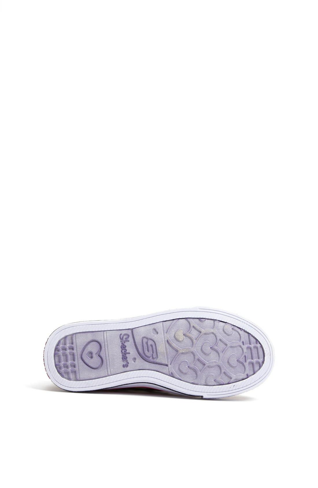 Alternate Image 4  - SKECHERS 'Twinkle Toes' Light-Up Sneaker (Toddler & Little Kid)