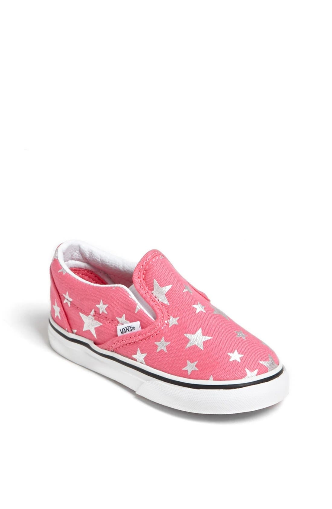 Alternate Image 1 Selected - Vans Stars Slip-On (Baby, Walker & Toddler)