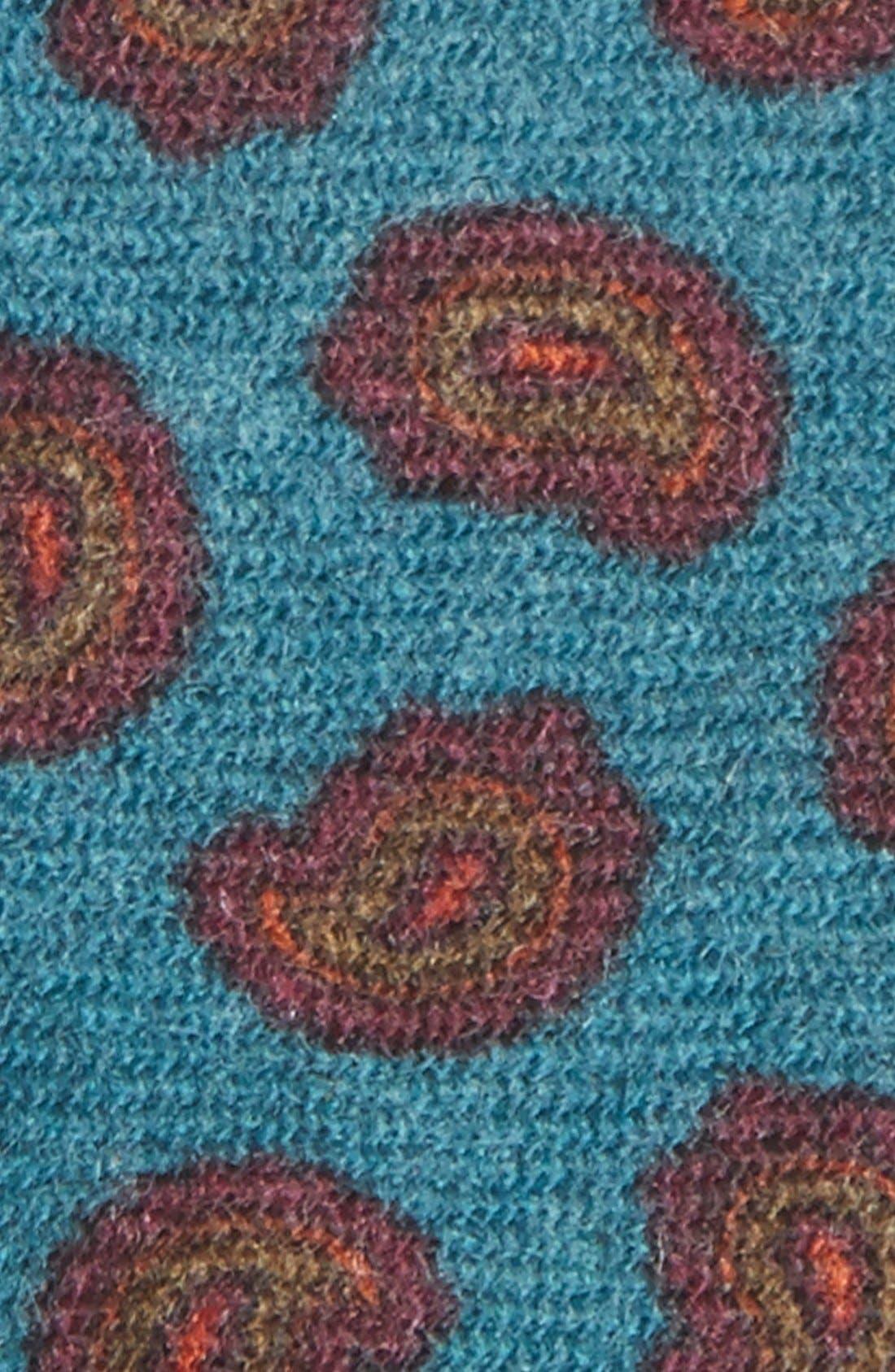 Alternate Image 2  - Gitman Paisley Woven Wool Tie