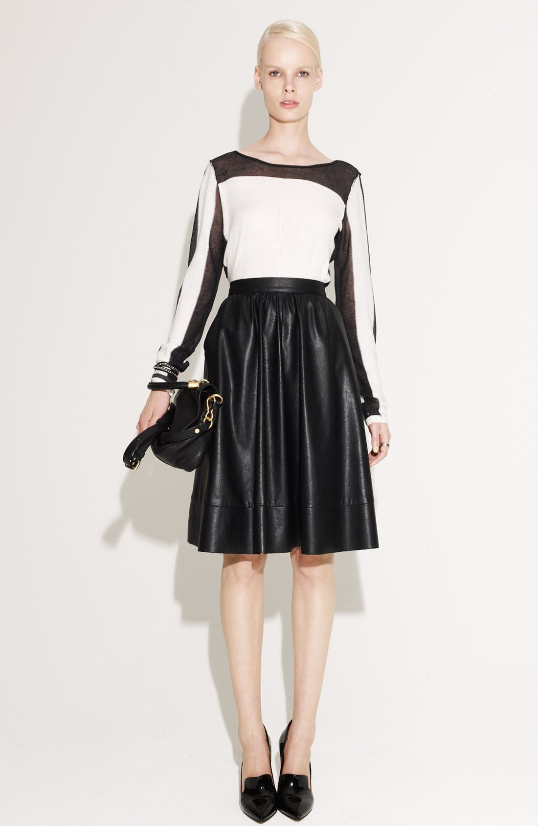 Alternate Image 1 Selected - Trouvé Sweater & Search for Sanity Skirt