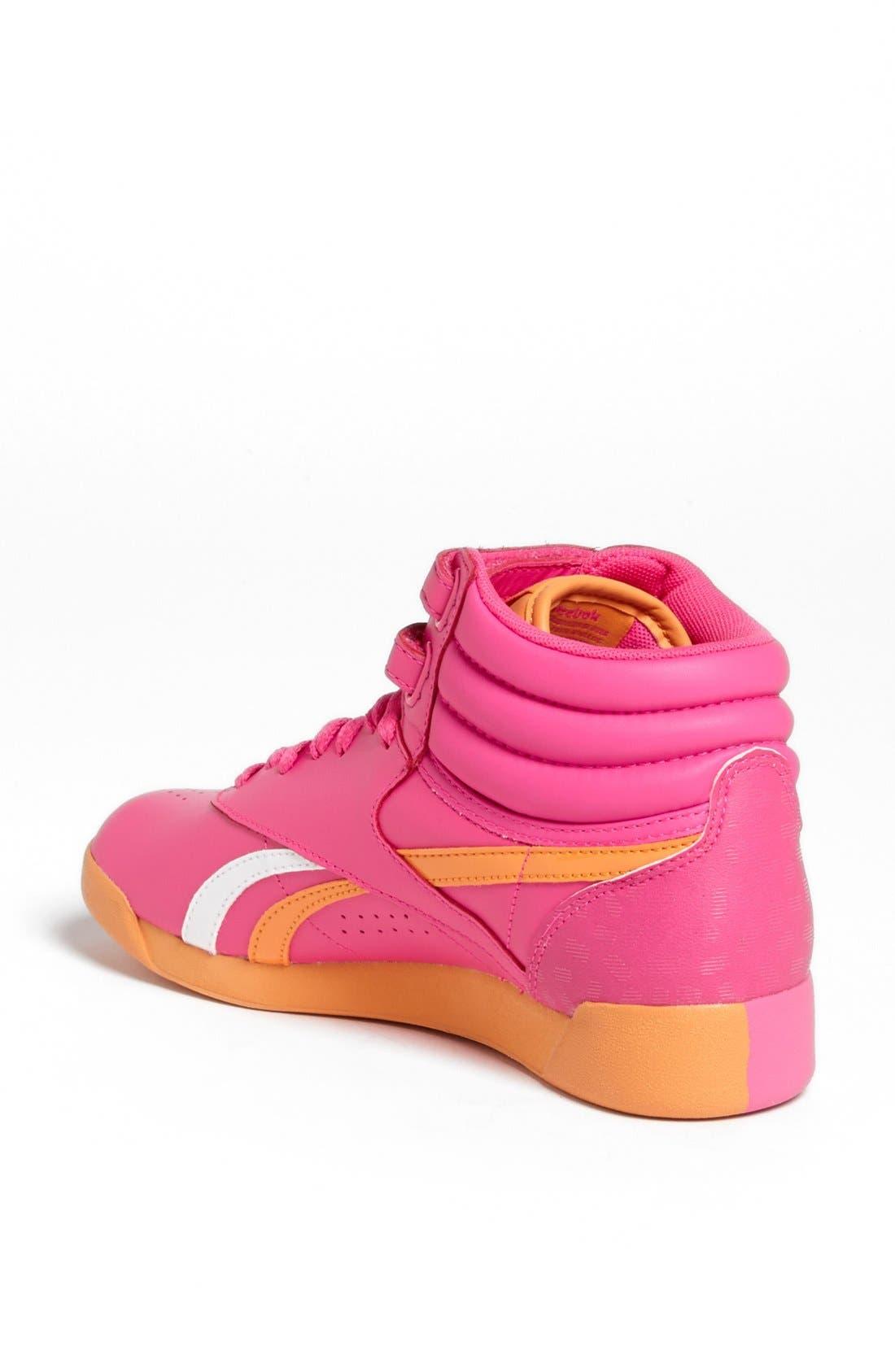 Alternate Image 2  - Reebok 'F/S Hi Splitz' High Top Sneaker (Women)