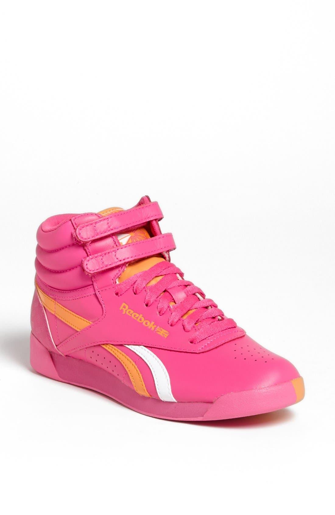 Alternate Image 1 Selected - Reebok 'F/S Hi Splitz' High Top Sneaker (Women)