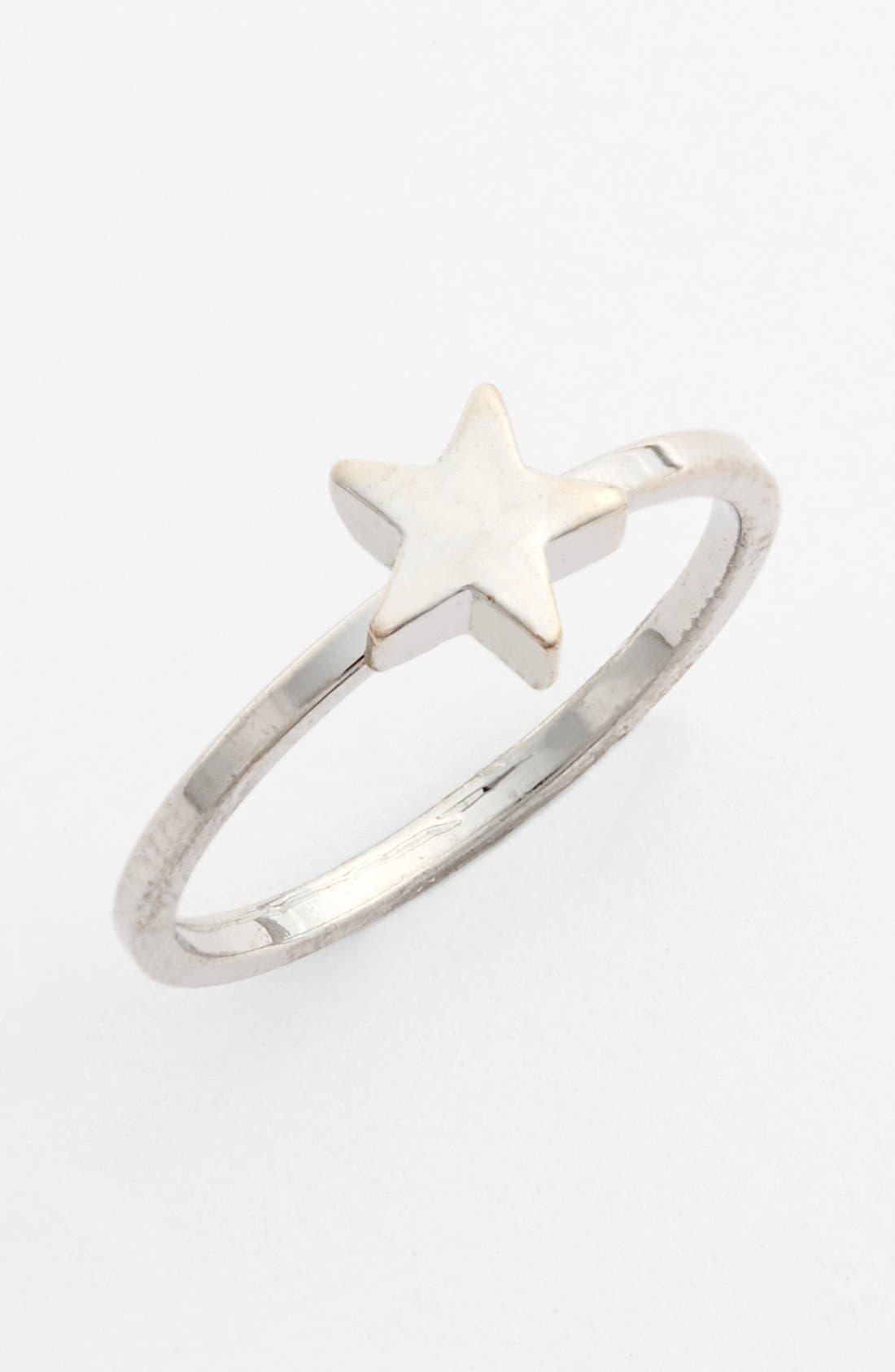 Alternate Image 1 Selected - BP. Star Midi Ring (Juniors)