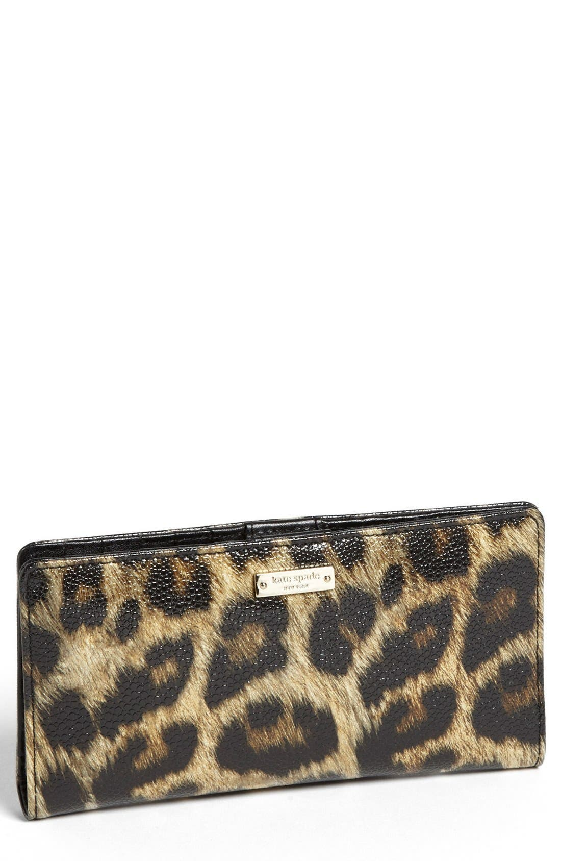 Alternate Image 1 Selected - kate spade new york 'cedar street animal - stacey' wallet