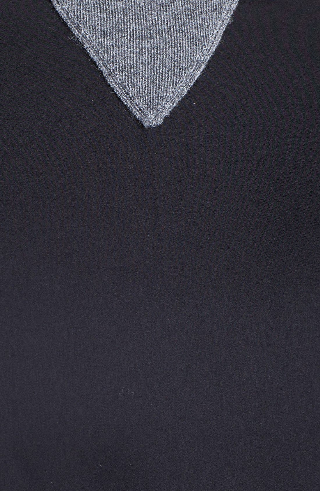 Alternate Image 3  - Halogen® Colorblock Sweater (Plus Size)