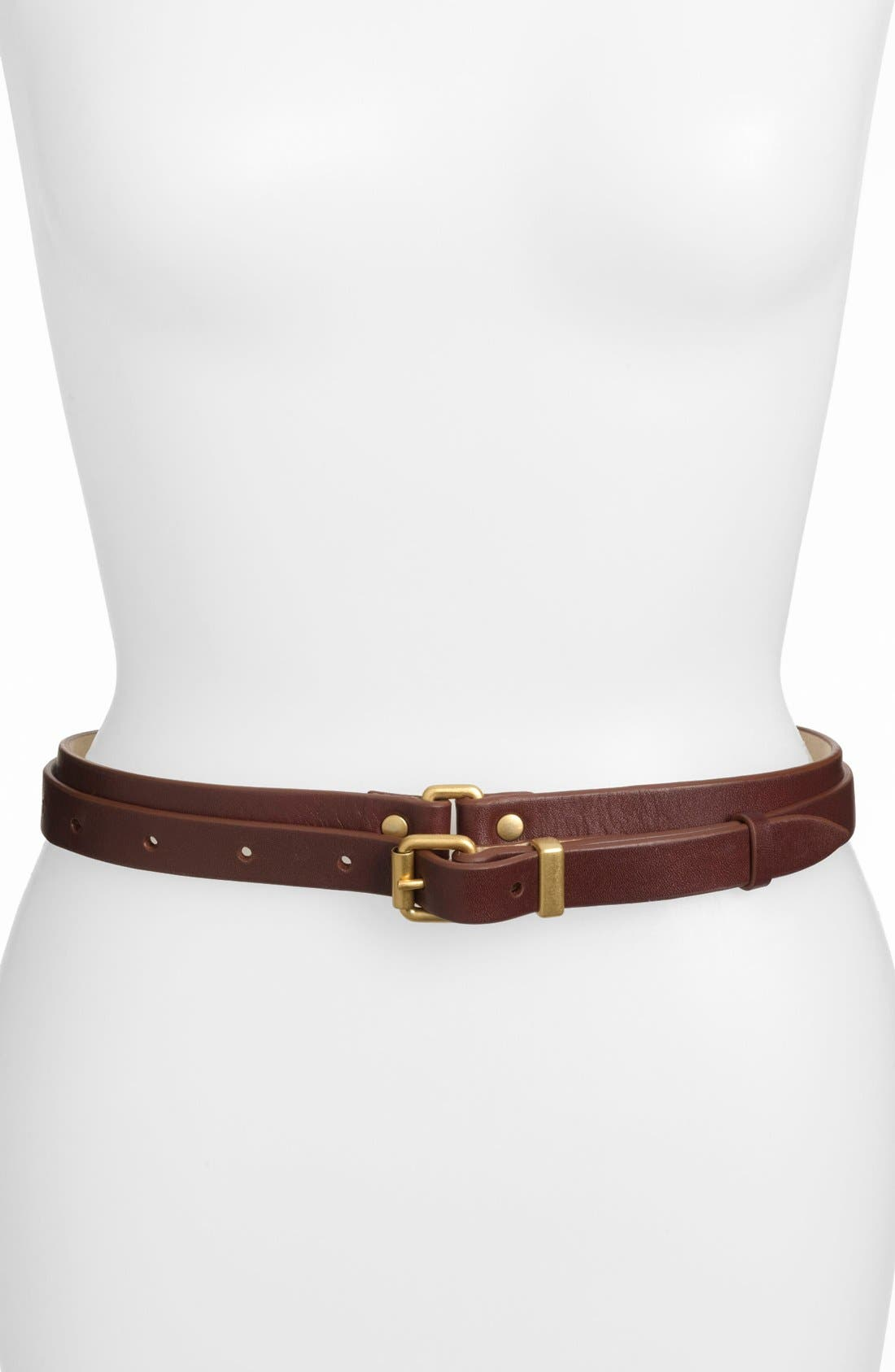 Alternate Image 1 Selected - MARC BY MARC JACOBS Double Wrap Leather Belt