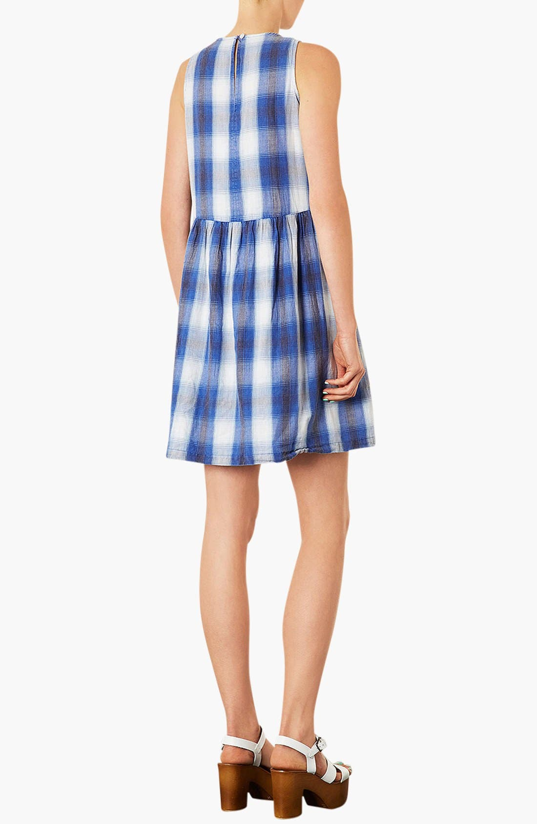 Alternate Image 3  - Topshop Check Maternity Dress