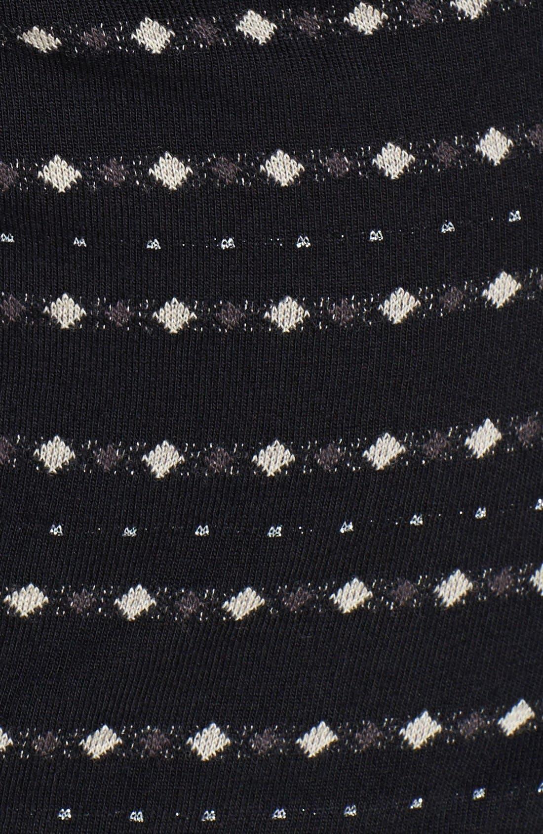 Alternate Image 3  - Betsey Johnson Illusion Yoke Fit & Flare Dress