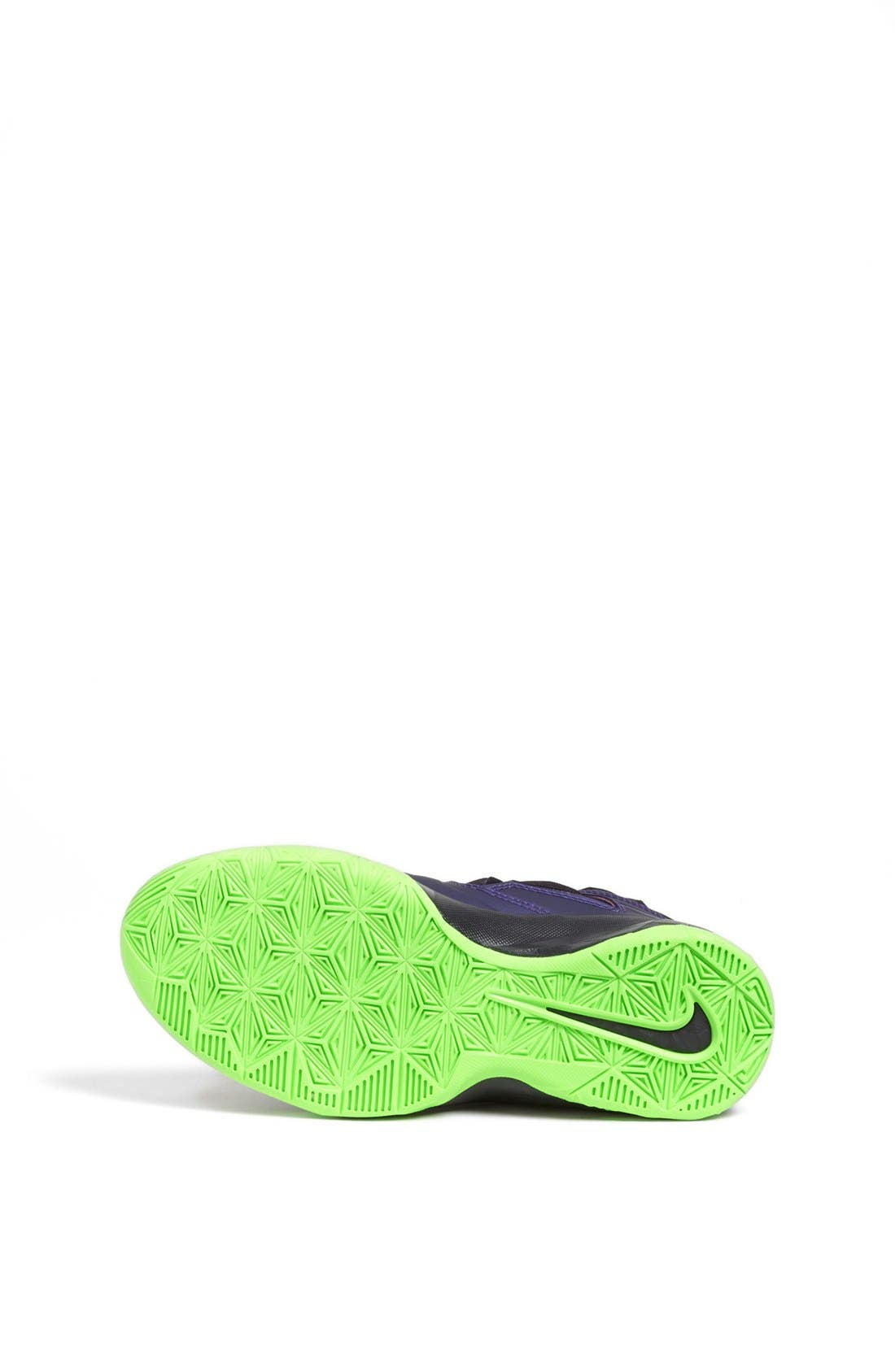 Alternate Image 4  - Nike 'LeBron Zoom Soldier VII' Basketball Shoe (Big Kid)