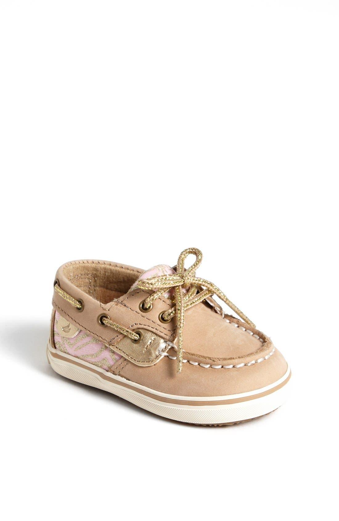 Main Image - Sperry Top-Sider® Kids 'Bluefish' Crib Shoe (Baby)