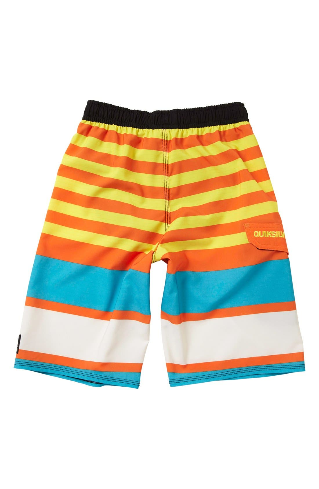 Alternate Image 2  - Quiksilver 'Why Can't You' Volley Shorts (Little Boys)
