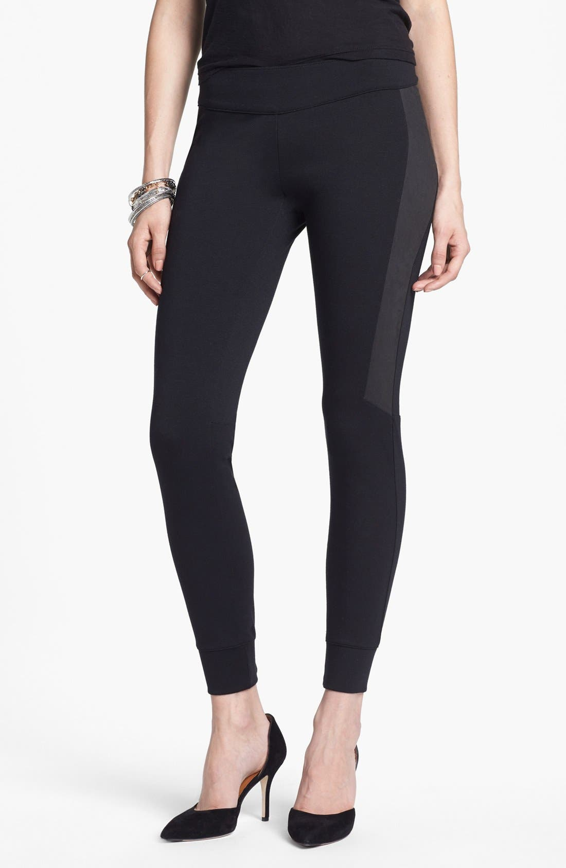 Alternate Image 1 Selected - Free People Moleskin Leggings