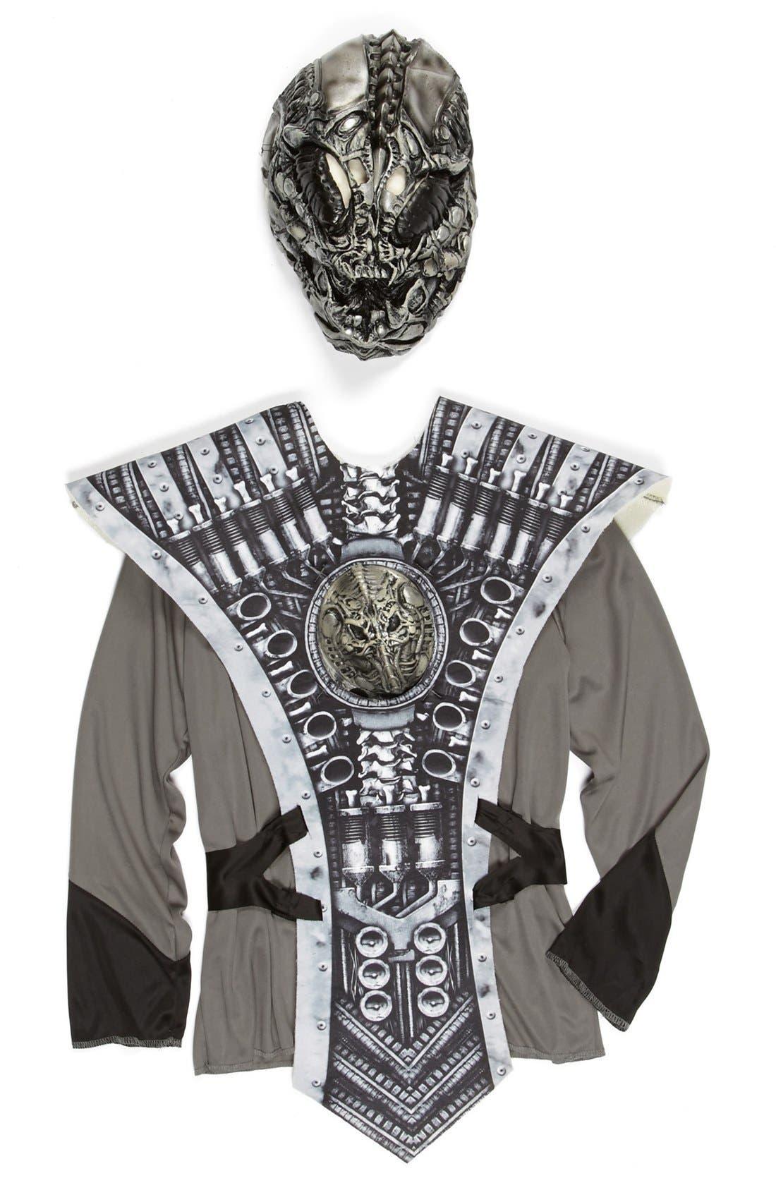 Alternate Image 2  - InCharacter Costumes 'Alien Warrior' Tunic & Mask (Little Boys & Big Boys)