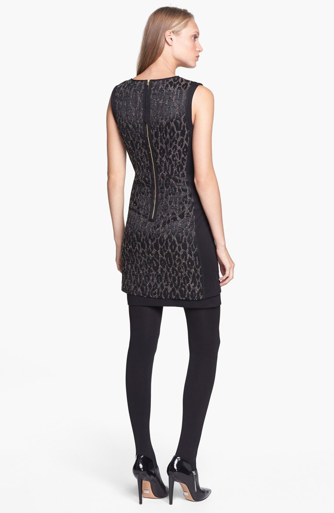 Alternate Image 2  - Trina Turk 'Sharise' Jacquard Sheath Dress