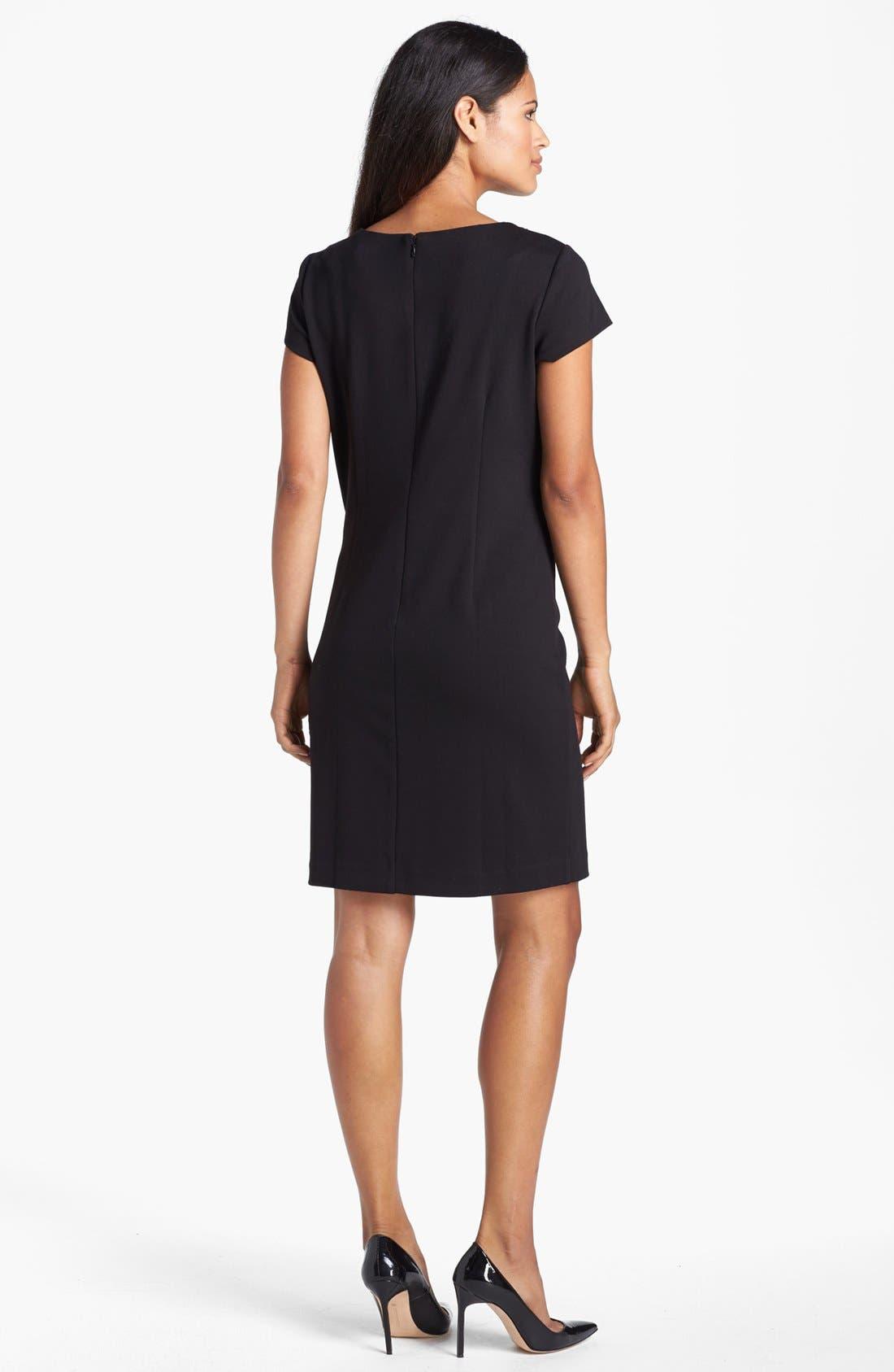 Alternate Image 3  - Ellen Tracy Embellished Ponte Knit Shift Dress