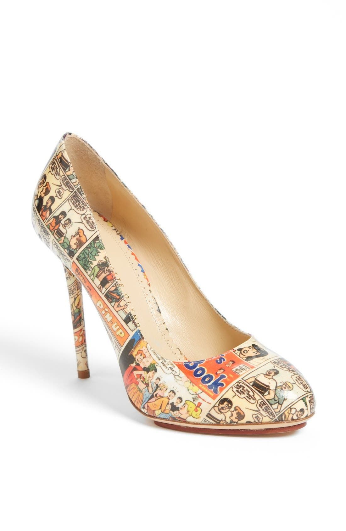 Main Image - Charlotte Olympia 'Jennifer Comic' Pump (Nordstrom Exclusive)