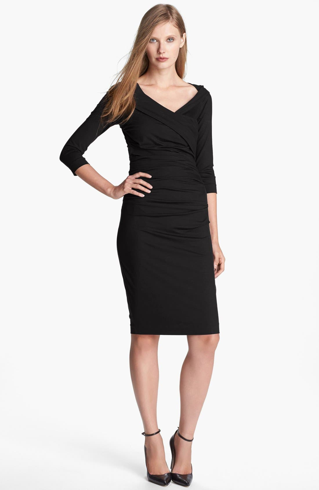 Alternate Image 1 Selected - Diane von Furstenberg 'Bentley' Ruched Dress