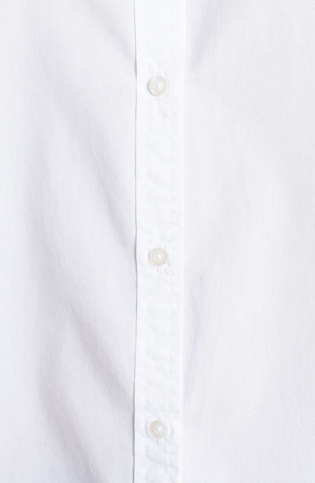 Alternate Image 3  - Tildon 'Clean' Oversized Button-Up Shirt