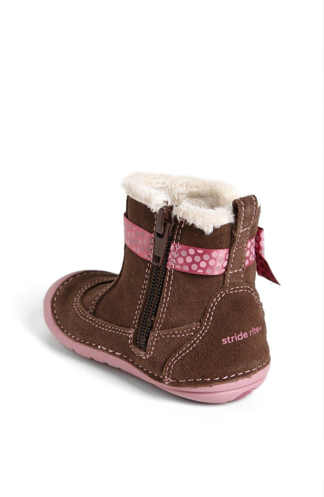 Alternate Image 2  - Stride Rite 'Gellar' Boot (Baby & Walker)