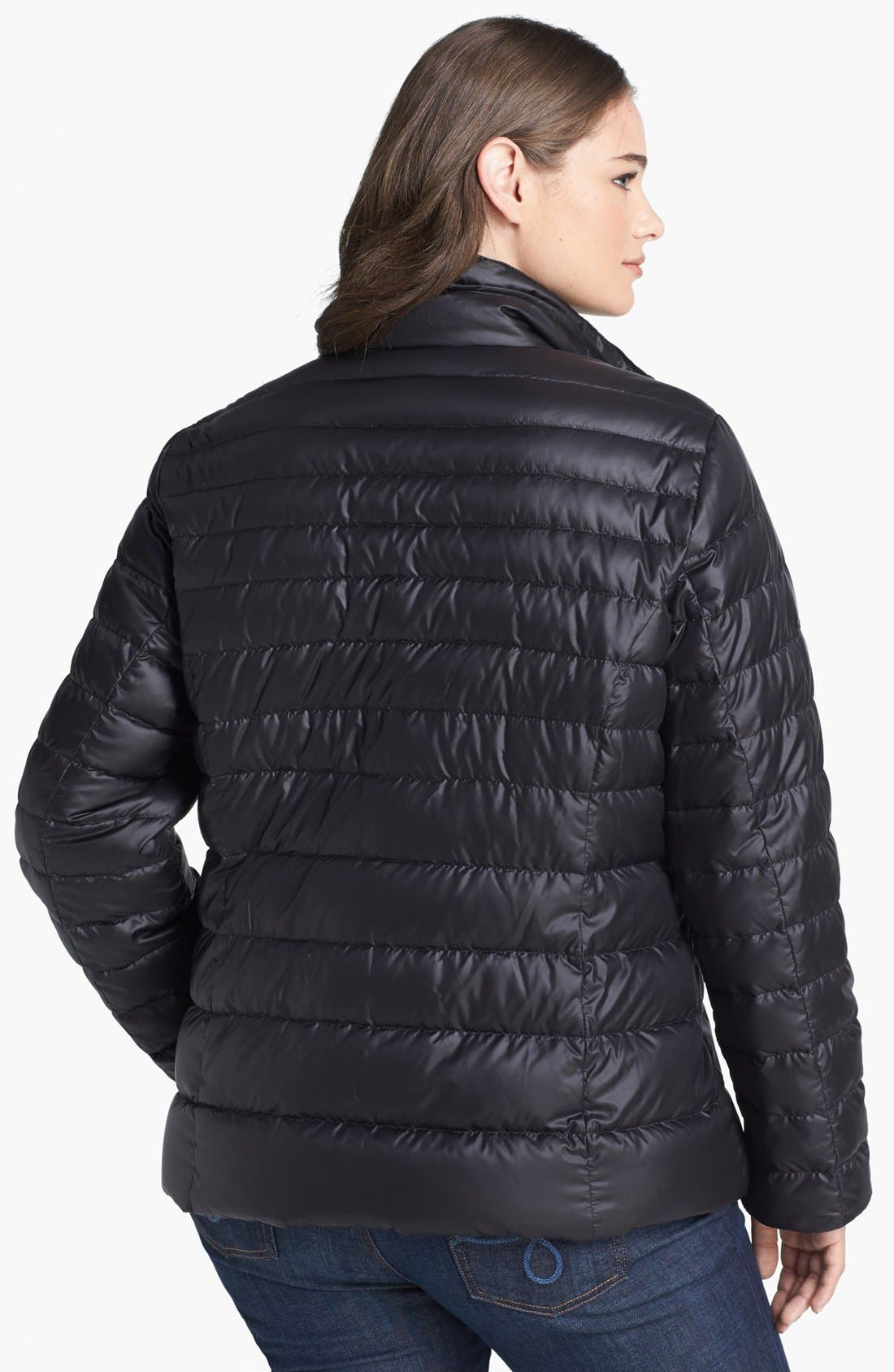 Alternate Image 2  - Marc New York by Andrew Marc 'Essex' Lightweight Down Jacket (Plus Size)