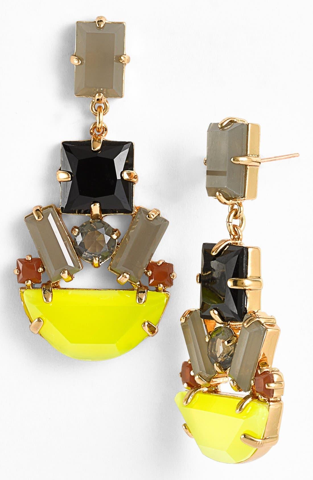 Alternate Image 1 Selected - kate spade new york 'mod money' chandelier earrings