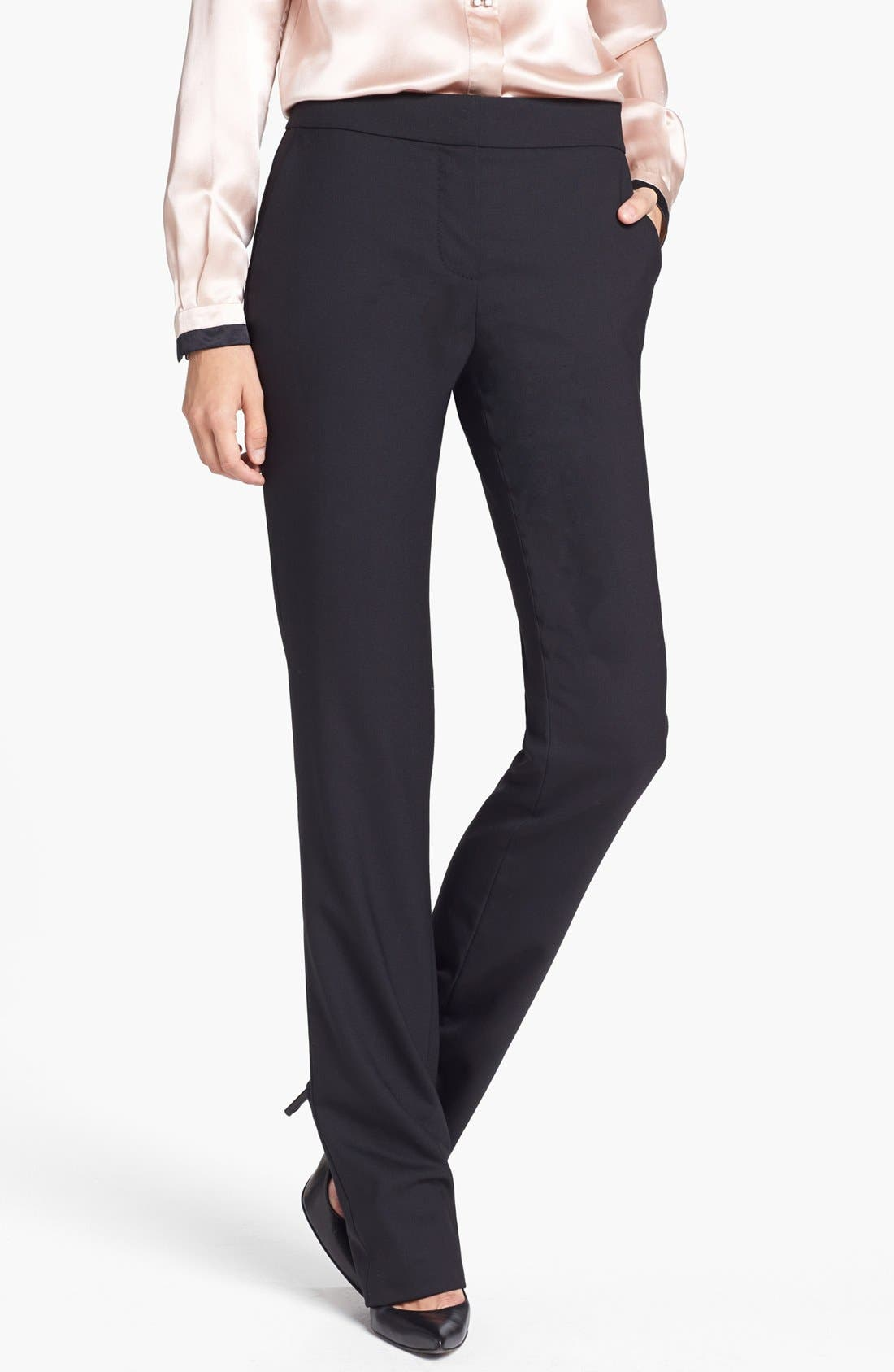 Main Image - Tory Burch 'Dolly' Stretch Wool Pants