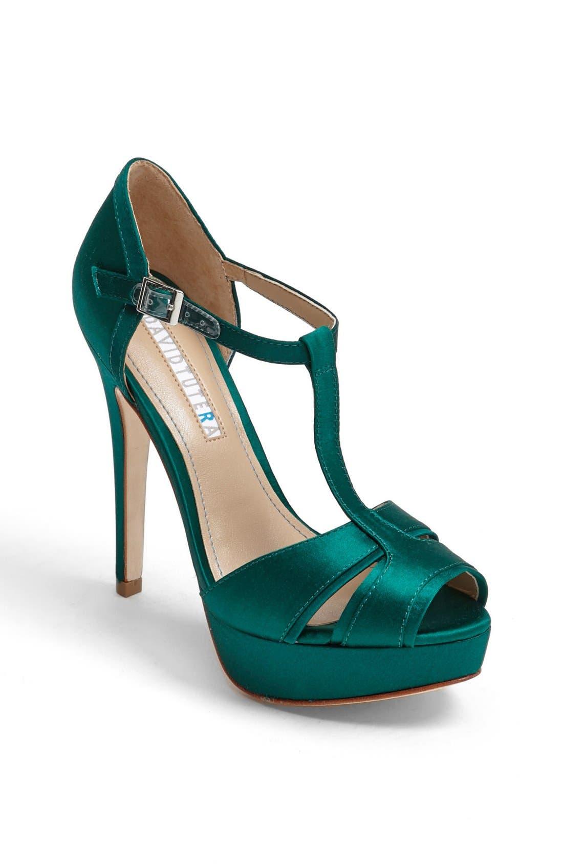 Alternate Image 1 Selected - David Tutera 'Joy' Sandal (Online Only Color)