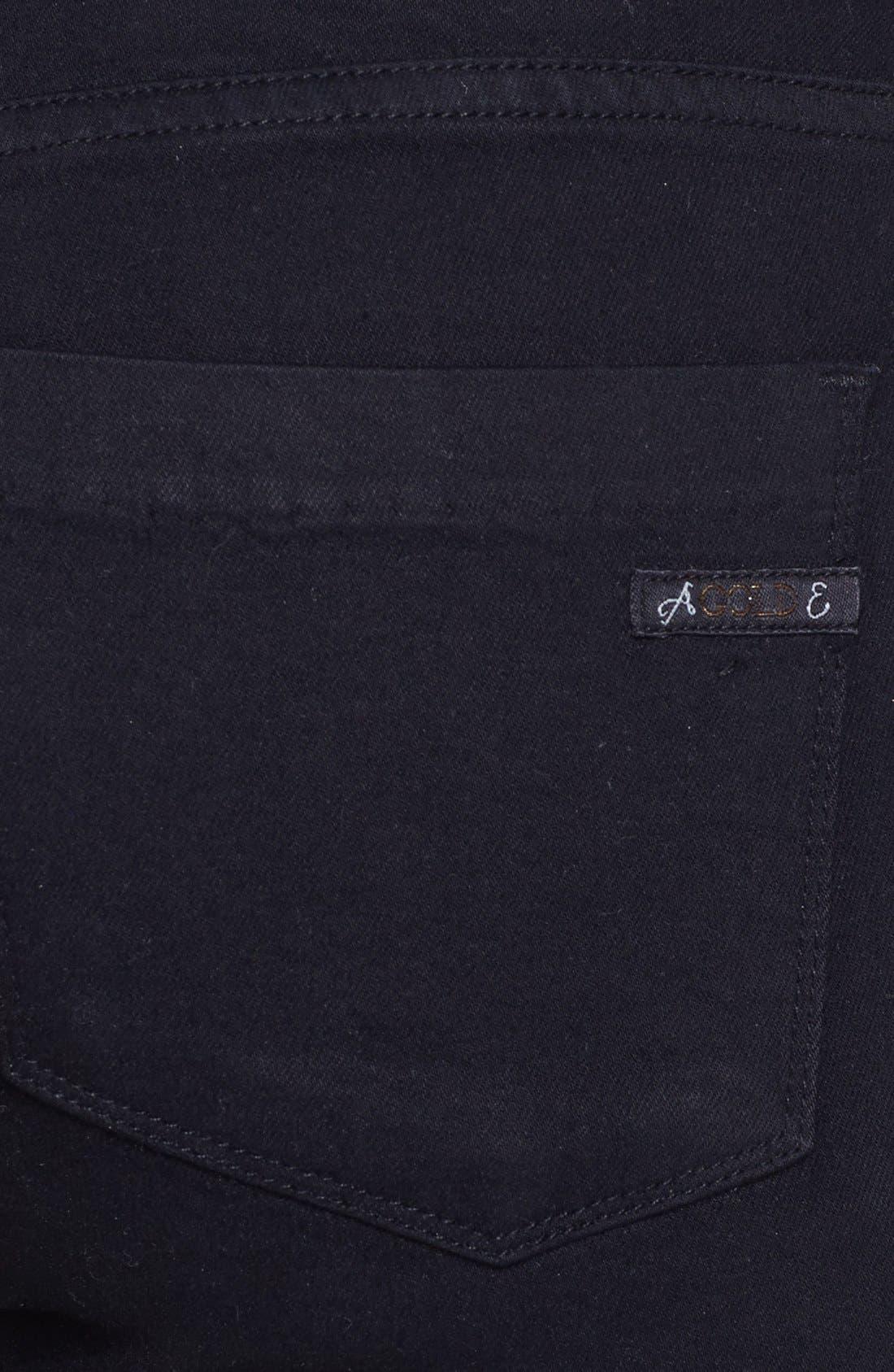 Alternate Image 3  - A Gold E 'Colette' Skinny Jeans (Dark Knights)
