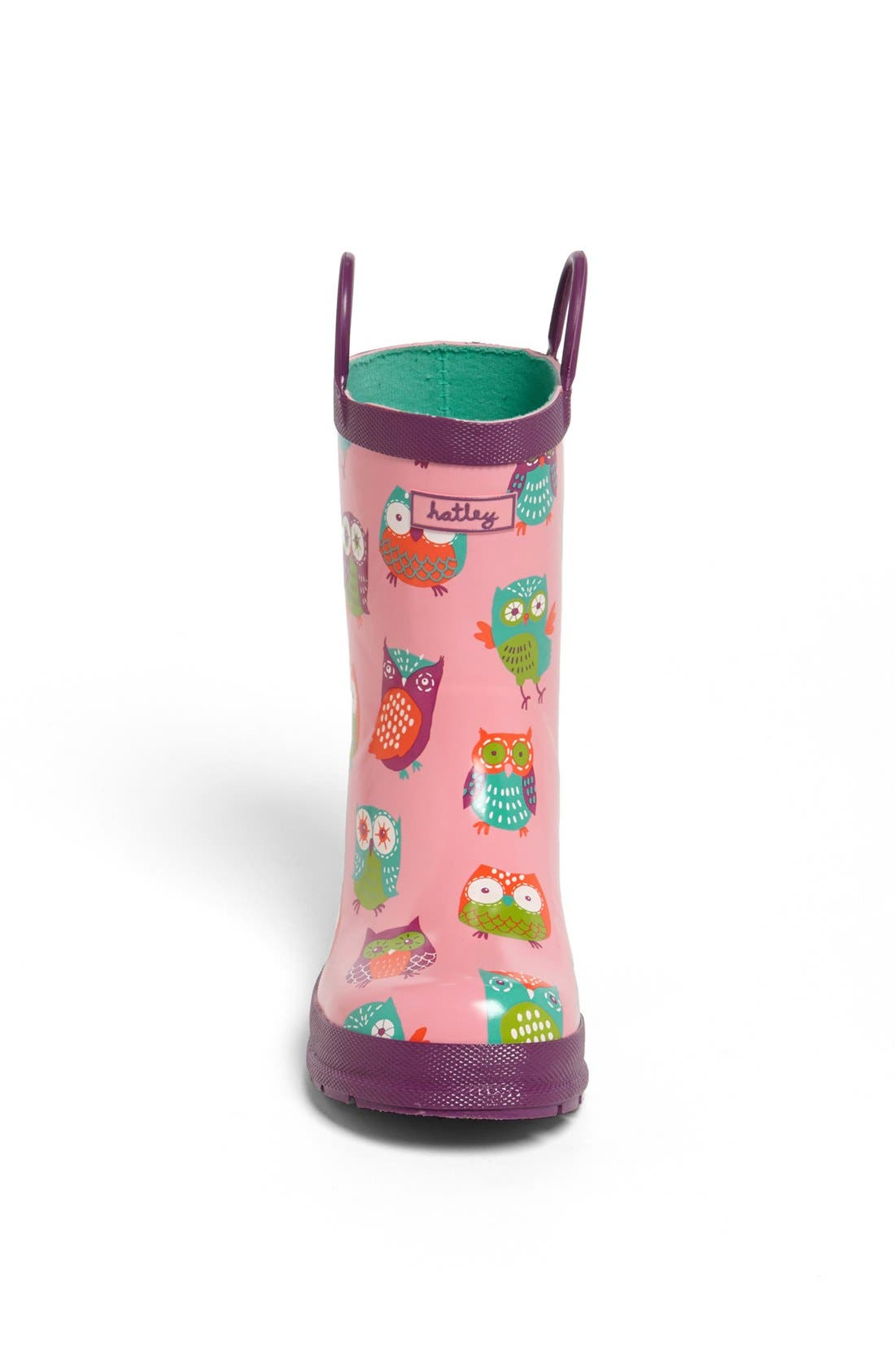 Alternate Image 3  - Hatley 'Party Owls' Rain Boot (Walker, Toddler & Little Kid)