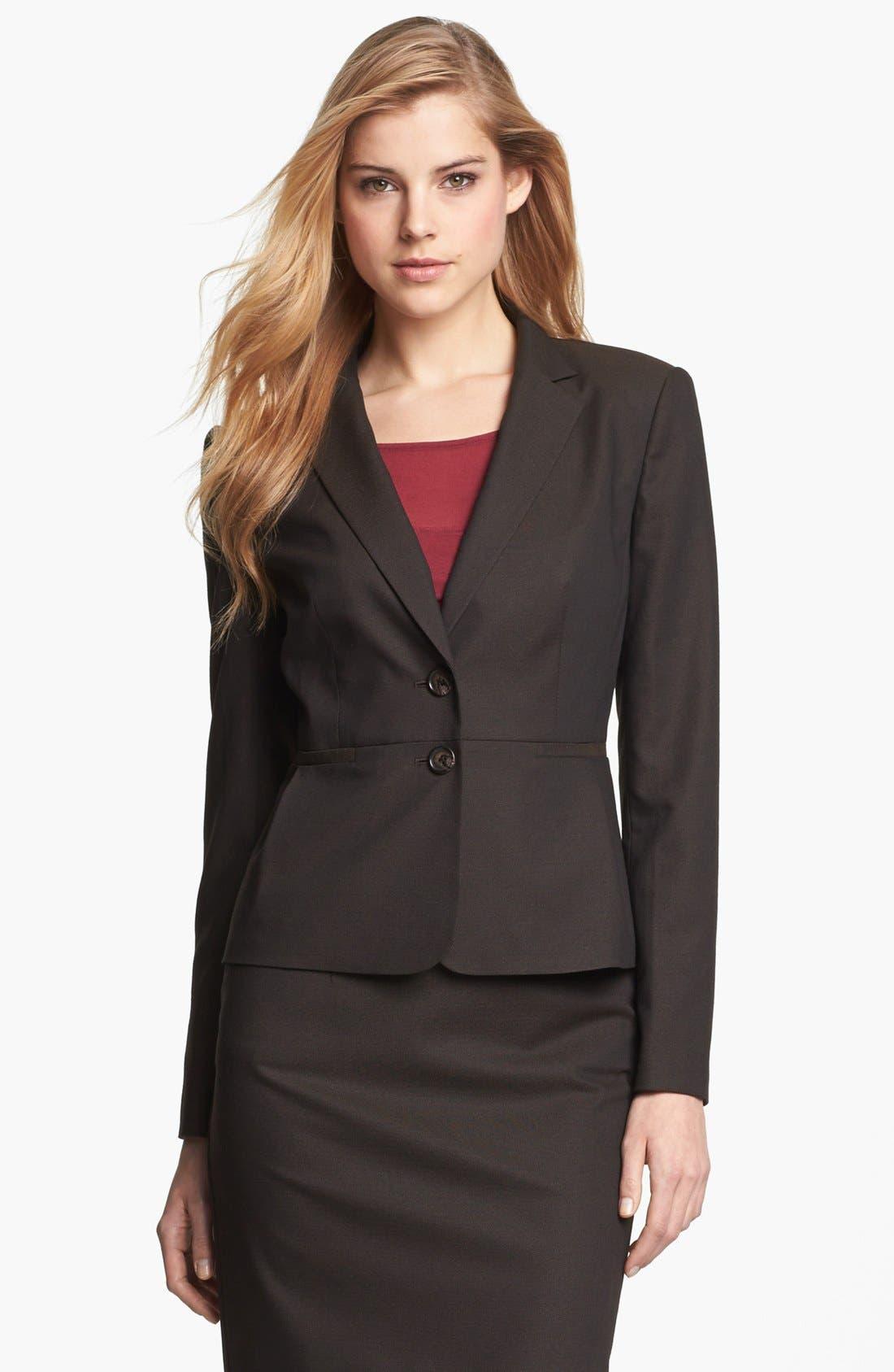 Main Image - Halogen® Suit Jacket (Petite)