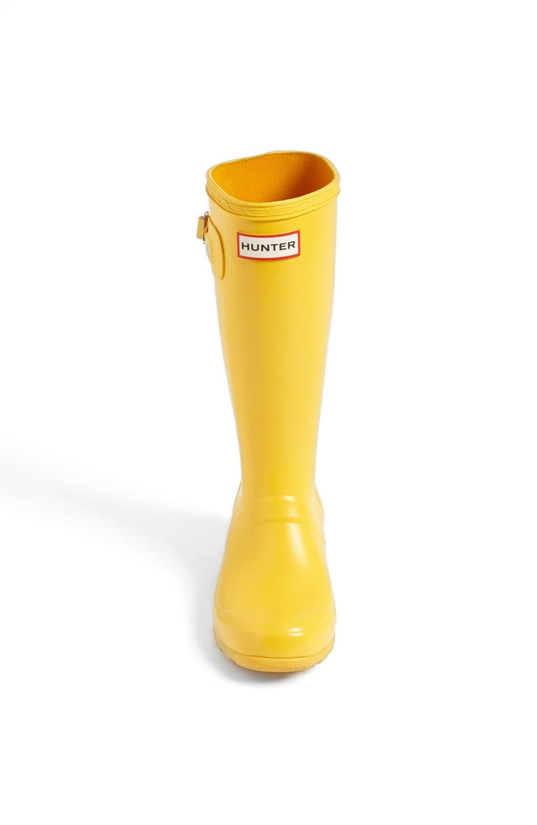 Alternate Image 2  - Hunter 'Tour' Packable Rain Boot (Toddler & Little Kid)