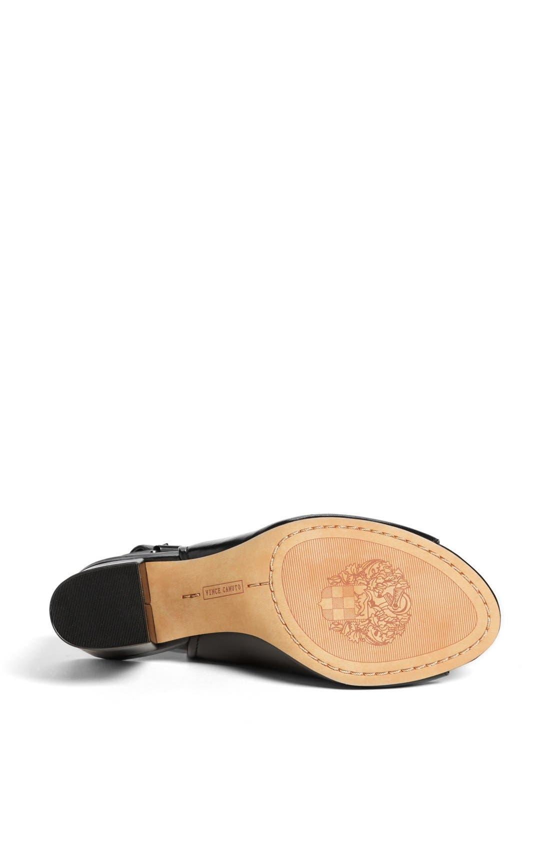 Alternate Image 4  - Vince Camuto 'Brianny' Slingback Peep Toe Leather Sandal