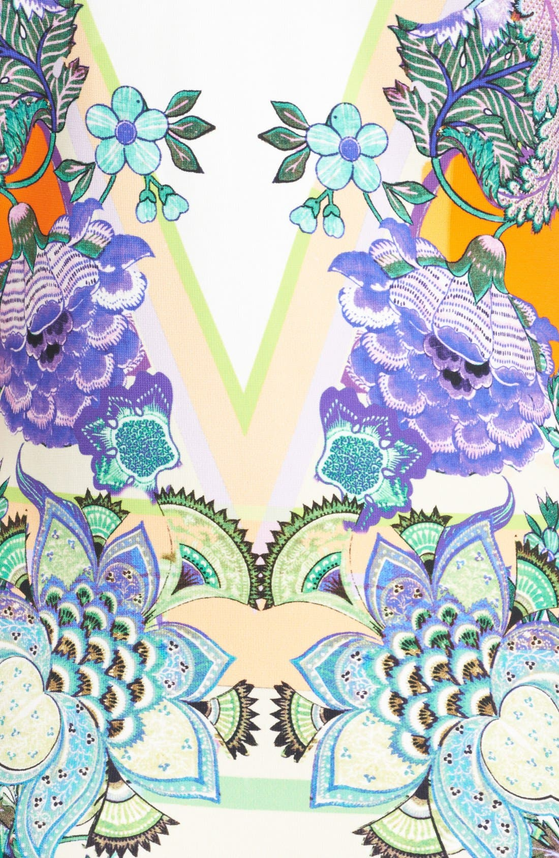 Alternate Image 3  - Roberto Cavalli 'Padma Print' Punto Milano Dress