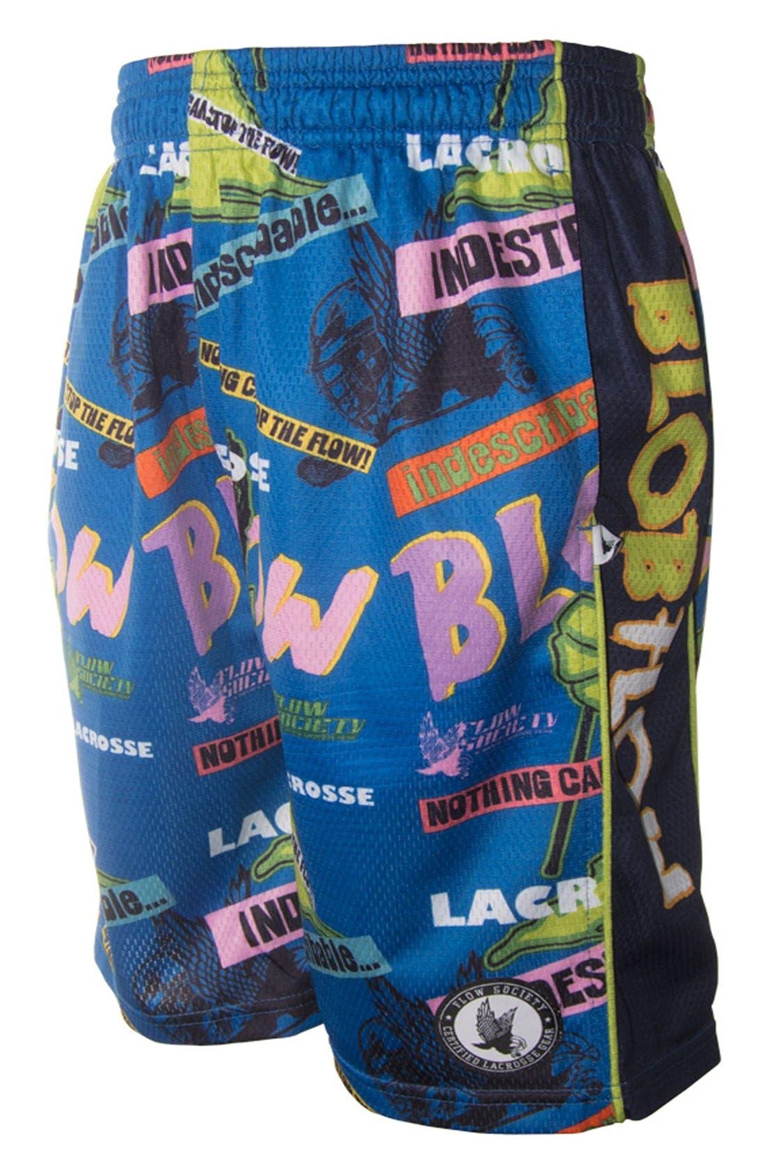 Main Image - Flow Society 'Flow Blob' Lacrosse Shorts (Little Boys & Big Boys)
